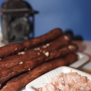 Savory Chocolate Breadsticks