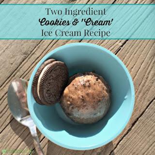 Homemade Oreo Cookies & Cream 'Ice Cream' Recipe