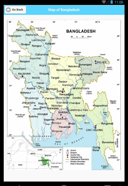 Map Of Bangladesh মনচতর Android Apps On Google Play - Bangladesh map download