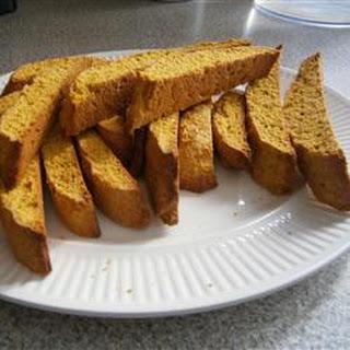 Pumpkin Pecan Biscotti