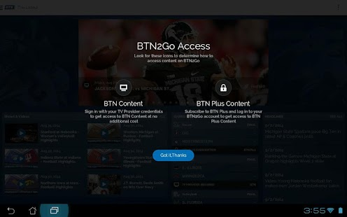 BTN2Go- screenshot thumbnail