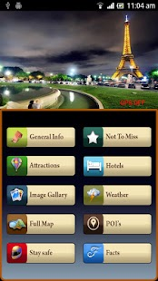 Paris Offline Map Travel Guide- screenshot thumbnail