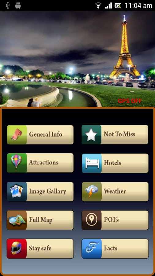 Paris Offline Map Travel Guide- screenshot