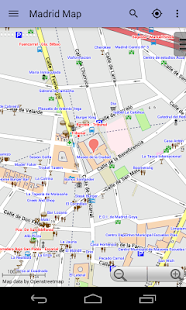 Madrid Offline City Map Lite- screenshot thumbnail