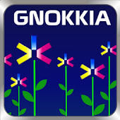 GOSMS Abstract Flowers Theme