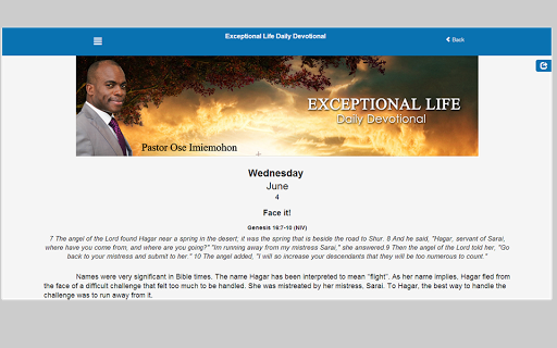 Exceptional Life Devotional