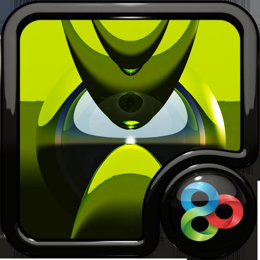 生活必備App|GO Launcher Theme Breeze LOGO-綠色工廠好玩App