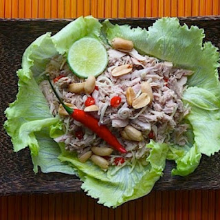 Spicy Tuna Salad with Young Ginger and Lemongrass
