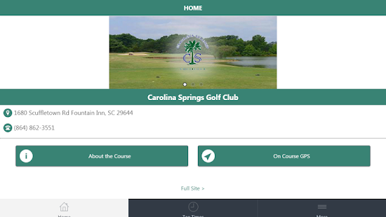 Carolina Springs Golf Center screenshot 2