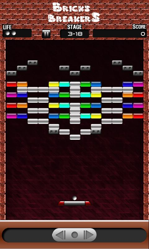 Brick breaker- free - screenshot