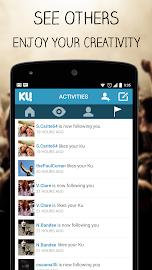 KU - creative social network Screenshot 5