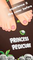 Screenshot of Princess Pedicure