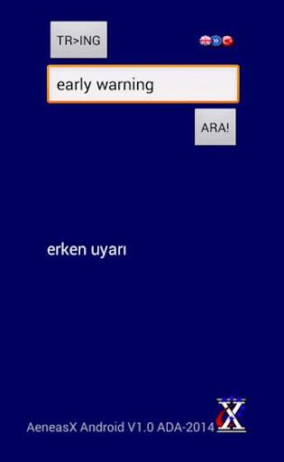 AeneasX EU Terms Dictionary