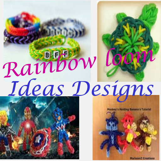 Rainbow Loom Ideas Designs LOGO-APP點子