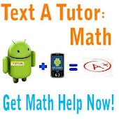 Text A Tutor: Math Tutoring