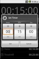 Screenshot of Timer