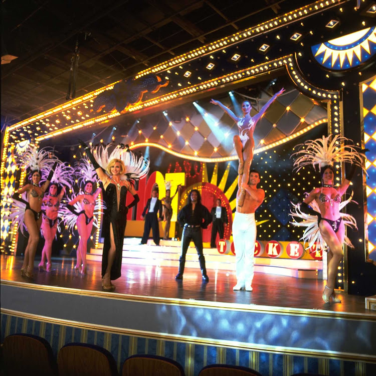Nightlife on Aruba includes stage shows.