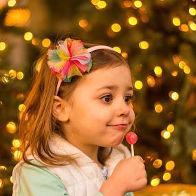Christmas Cheer by Jon Kowal - Babies & Children Child Portraits