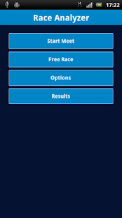 Swimming Race Analyzer - screenshot thumbnail