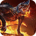 Beast on Fire LWP icon