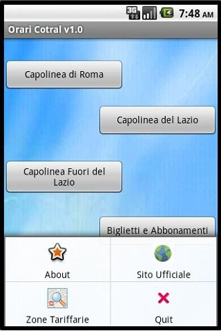 Orari Cotral (Bus Lazio) - screenshot