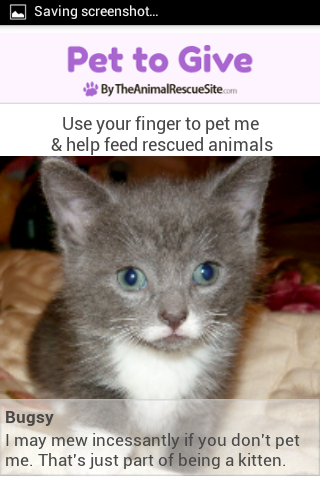 Pet To Give- screenshot