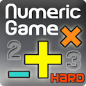 Numeric Game Hard (BrainGame) logo