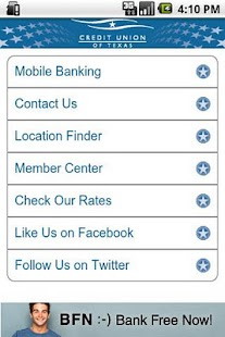 Credit Union of Texas Mobile - screenshot thumbnail