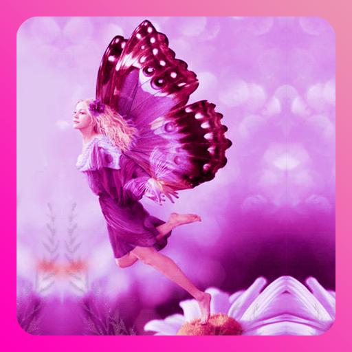 Pink Fairy Live Wallpaper