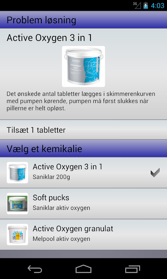 Poolrådgiveren- screenshot