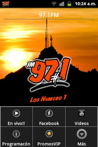97.1 FM Radio La Numero Uno