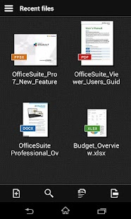 OfficeSuite 7 (PDF & HD) - screenshot thumbnail