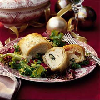 Cheese-Stuffed Chicken in Phyllo.