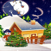 Xmas House Live Wallpaper