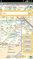 Screenshot of Paris subway & guide