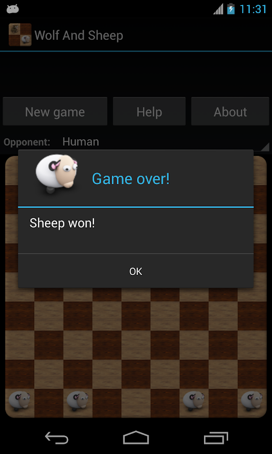 Wolf and Sheep - screenshot