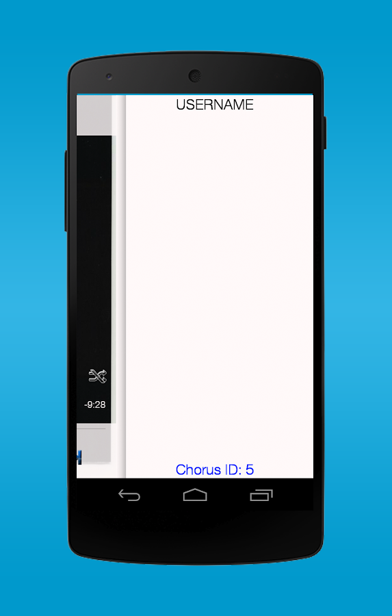 Chorus - screenshot