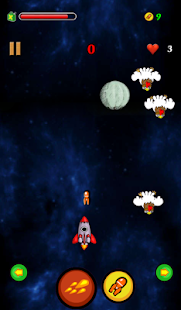 【免費街機App】Chicken Space - Ban ga-APP點子