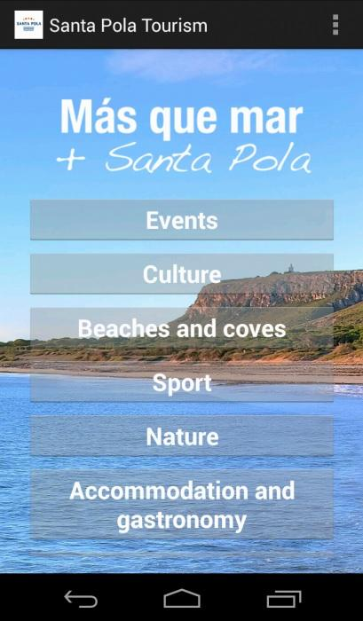 Santa Pola Tourism- screenshot