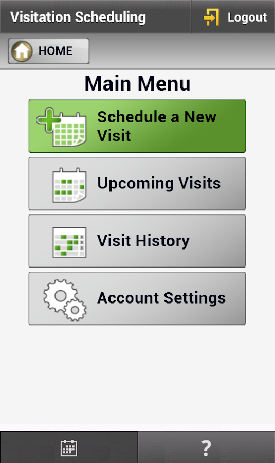 GTL - Schedule Visits (1 of 2)- screenshot