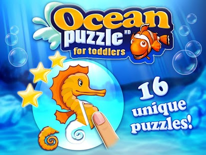 Ocean puzzle HD for toddlers - screenshot thumbnail
