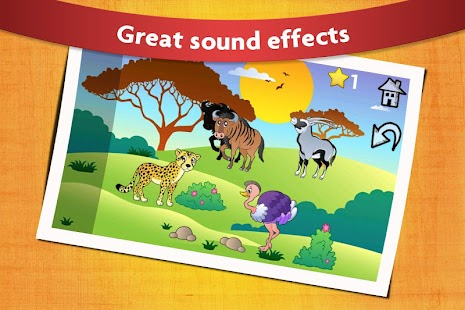 Animal Shape Puzzles Kids 2- screenshot thumbnail