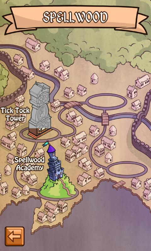 Spellwood: Word Game Adventure: screenshot