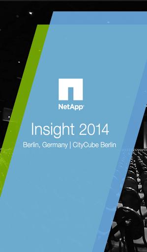 NetApp Insight 2014 Berlin