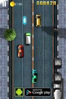 Screenshot of Car Race : Down Town Rush 2