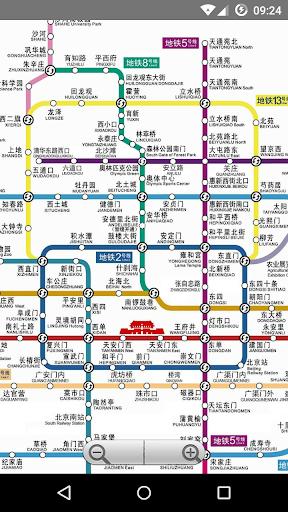 北京地铁2015