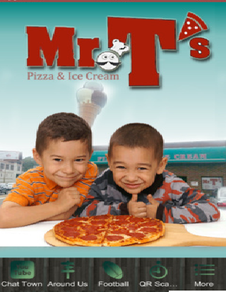 Mr.T's Pizza Ice Cream