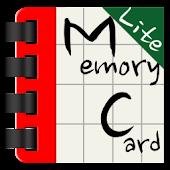 (Lite)Memory Card (단어 암기 카드)