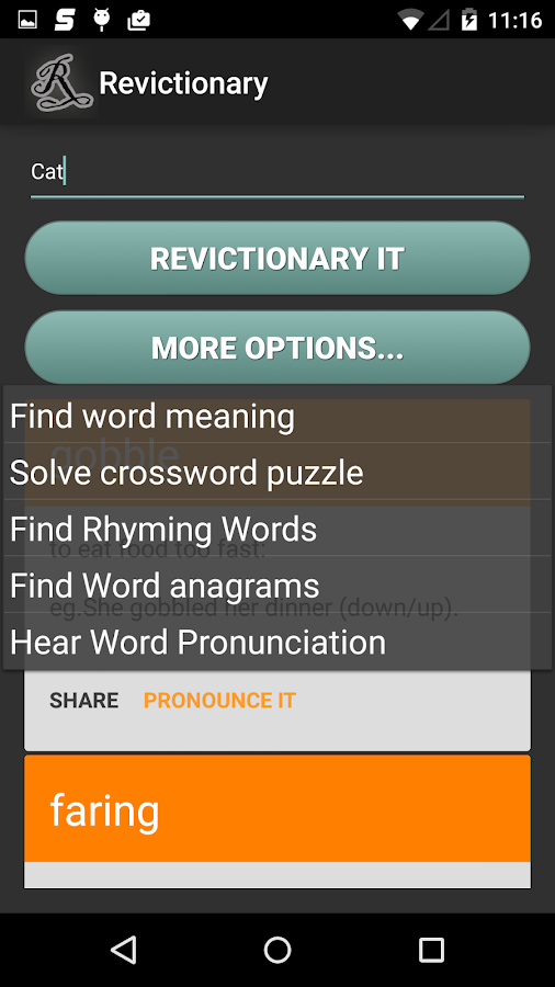 Reverse dictionary android apps on google play for One dictionary