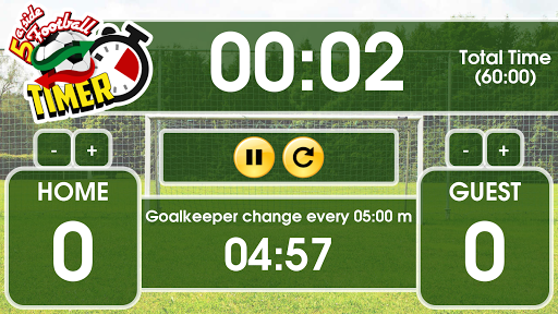 Five-a-side Football Timer